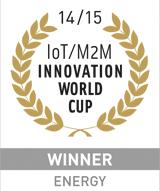 GAGNANT DE LA IoT / M2M INNOVATION WORLD CUP 2014/15