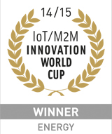 Winner of the IoT / M2M Innovation World Cup 2014/15